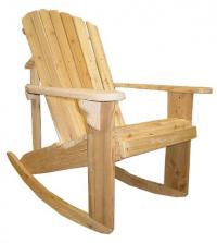 Click to enlarge image Adirondack BIG BOY Rocking Chair - For someone who can`t sit still.