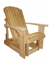 Click to enlarge image Adirondack Glider - Glide your worries away