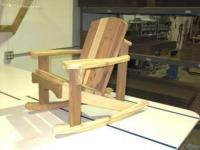 Click to enlarge image Adirondack Junior Rocking Chair  - What child does not like to rock!